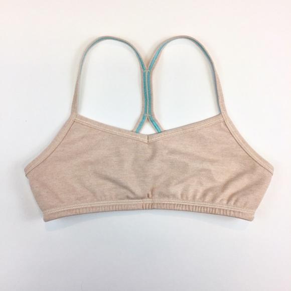 06fc41646f lululemon athletica Other - Lululemon Ivivva Heathered Nude Drill Sports Bra